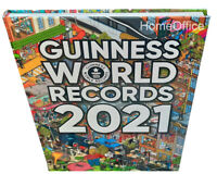 Guinness Book of World Records 2021 Annual Hardbacked Guiness Book RRP £20