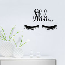 Sexy Beautiful Cute Big Eye Lashes Wall Mural Vinyl Art Sticker Room Home Decor