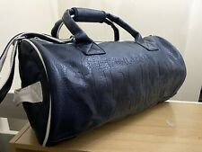 RARE Superdry Athletic Barrel Bag - Navy/White With Blue Logo BNWT - AB05