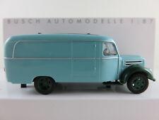 Busch 51801 Robur Garant K 30 Kastenwagen (1957) in türkis/grau 1:87/H0 NEU/OVP