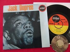 "7"" Single 4 Tr. EP JACK DUPREE Walking the Blues Hare Lip 1965 England 