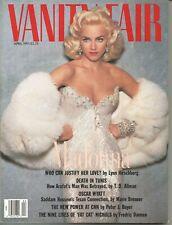 MADONNA - VANITY FAIR MAGAZINE - APRIL 1991