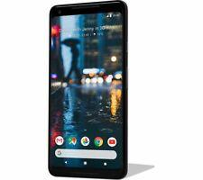 "GOOGLE PIXEL 2 XL JUST BLACK 6"" FACTORY UNLOCKED 4G LTE 64GB G011C PHONE ONLY"