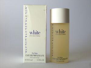 Giorgio Armani Emporio White For Him AFTER-SHAVE Lotion 100ml -3.4 Oz Full Boxed