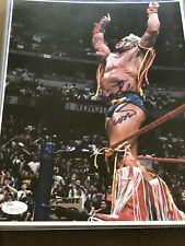 Ultimate Warrior 8.5x11Autographed Photo WWF WWE JSA