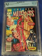 New Mutants #98 CBCS 8.5 white pages 1st Deadpool 🔥NEWSSTAND 🔥 not cgc