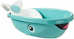 Fisher Price Whale Baby Kids Toddler Newborn Safety Shower Bath Seat Tub Bat...