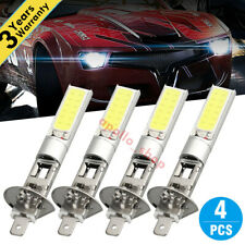 4x White H1 CREE LED Headlight High Low Beam Light SMD Bulbs Vehicle Lamp 100W P
