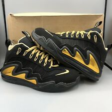 73179deef5 Nike Griffey Air Max 360 Diamond Black Gold 580398 001 Size 10 Jordan