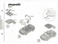 Playmobil Bauanleitung 3739 Reiselimousine Dachständer