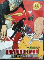One Punch Man Season 2 Vol.1-12 End English Subtitle Ship From USA