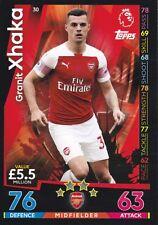 Match AttaxPremier League 2018/19 -Granit Xhaka - Arsenal London FC / Gladbach