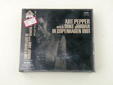 ART PEPPER with DUKE JORDAN IN COPENHAGEN 1981- RARE 1991 JAPAN 2 CD W/OBI NEW!
