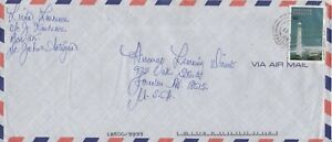 Antigua & Barbuda - 1998 Lighthouses, 90c Groenpoint - Air Mail Commercial Cover