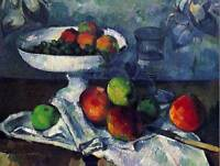 PAUL CEZANNE STILL LIFE WITH FRUIT BOWL OLD MASTER ART PAINTING PRINT 2122OM