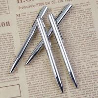 Mini Pocket-size Ballpoint Pen Metal Rotating Portable Oil Pen#