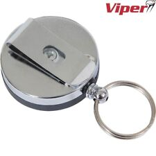 VIPER ID HOLDER RETRACTABLE  LANYARD BADGE CLIP POUCH SECURITY TACTICAL KEY FOB