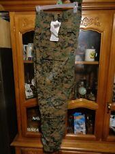 FROG Combat Ensemble Trousers USMC CIF Woodland MARPAT Sz LARGE  NEW W/ TAG  L