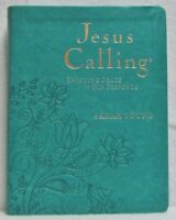 NEW Jesus Calling Sarah Young Teal Leatherflex  Devotional Large Print Deluxe
