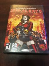 Command & Conquer Red Alert 3 PC DVD-ROM Software Complete Video Game