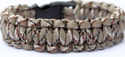 Survival Paracord Bracelet Wristband Military Camping Hiking Emergency USA Gear