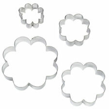 Blossom Nesting Metal Cutter 4pc Set from Wilton #1204 - NEW
