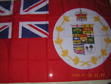 100% New Reproduced British Empire Flag Canada Red Ensign 1896 3X5ft GB UK EIIR
