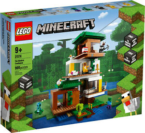 LEGO® MINECRAFT Das moderne Baumhaus 21174