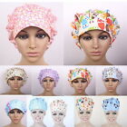 Women's Animals Pattern Bouffant Medical Surgical Surgery Hat Scrub Cap Chef Hat