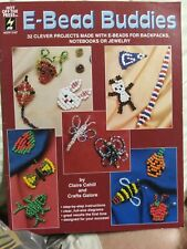 E-Bead Buddies Seed Bead Projects 32 Projects pattern booklet