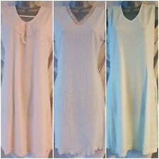 Midi Polyester-Rayon Breathable Knitted Nightdress Selection All Seasons Size 12