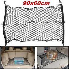 Car Trunk  Rear Cargo Organizer Storage Elastic Mesh Net Holder 4 Hooks 90*60