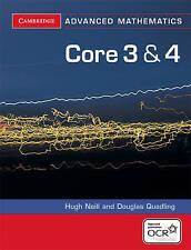 Core 3 and 4 for OCR by Hugh Neill, Douglas Quadling (Paperback, 2005)