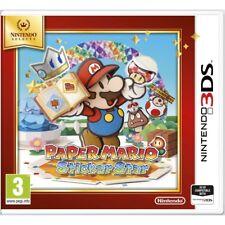 Paper Mario Sticker Star Nintendo 3ds Game 3 Years