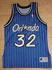 Orlando Magic Shaquille O 'Neal NBA Authentic Basket Maillot Champion M Jersey