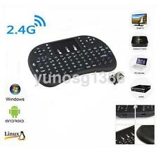 2.4G Mini Wireless Keyboard with Touchpad for PC Pad Andriod Smart TV Black UK