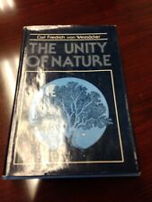 UNITY OF NATURE (ENGLISH AND GERMAN EDITION) By Carl Friedrich Von Weizsacker VG
