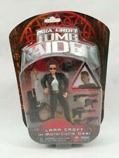 Tomb Raider Figure Lara Croft Motorcycle Gear Playmates 2001