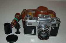 Kiev-4 (type 3) vintage 1959 soviétique télémètre caméra & étui. serviced. 5936668