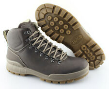 3ead51ba4523 Men s ECCO  Track 25 High  Coffee Brown Leather Hydromax Boots Size ...