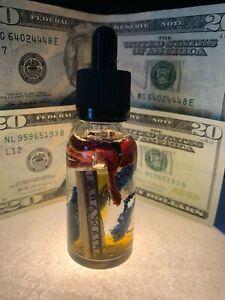 Money Magnet Oil Fast Money Drawing Oil Abundance Prosperity Wealth Hoodoo Wicca