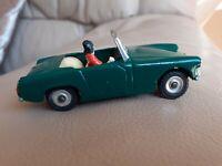 Vintage Green1:43 Dinky Toys 1960's Healey Sprite MG Midget Code3 Refurb A 1 Off