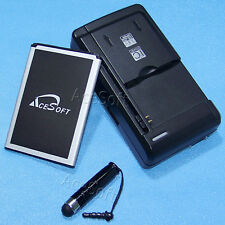 High Power 2470mAh Battery Travel House Charger Stylus for LG Risio H343 Cricket