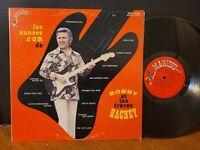 BOBBY HACHEY - BOBBY ET LES FERES HACHEY - LES ANNES D'OR DE BOBBY Guitar LP VG+