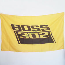 Advertising Decor Flag for Boss 302 Flag 3x5ft Indoor Outdoor Decoration