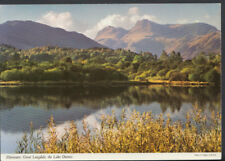 Cumbria Postcard - Elterwater, Great Langdale, The Lake District    RR2927