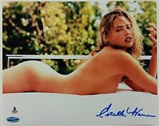 ESTELLA WARREN Signed 8x10 Photo #5 Victoria's Secret Model w/ Beckett BAS COA