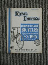 More details for royal enfield fold out brochure catalogue