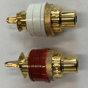 WBT-0201,  RCA Socket 24k Gold Supra-Plating