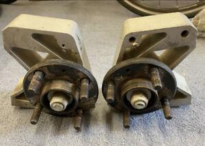 Lotus Elise Exige S1 Pair Front Aluminium Uprights Hubs - Complete